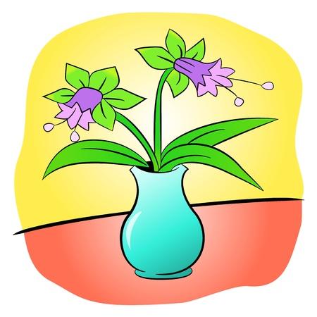 jardiniere flower Vector