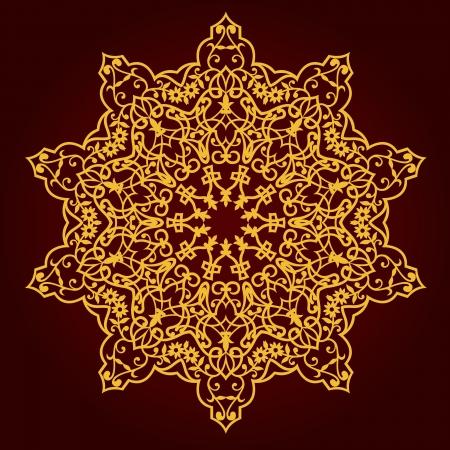 traditional Persian-Arabic-Turkish-Islamic Pattern Stock Vector - 21124197
