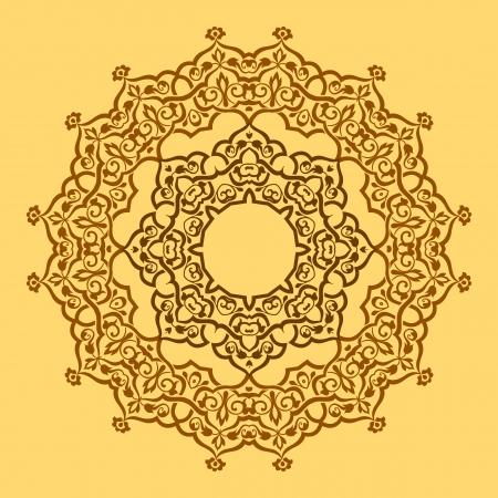 원형 패턴 일러스트