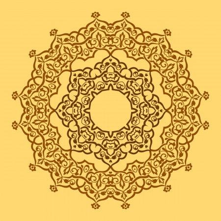 ashta: Round pattern