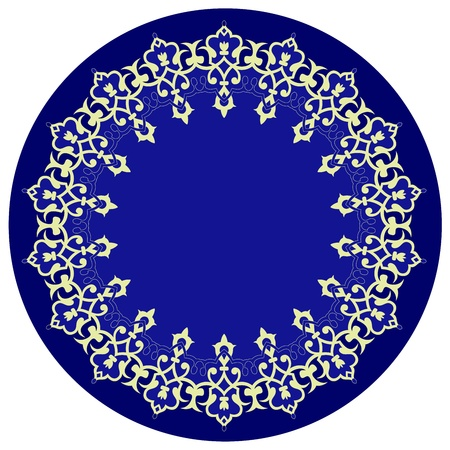 Vector of traditional Persian-Arabic-Turkish-Islamic Pattern Stock Vector - 21317593