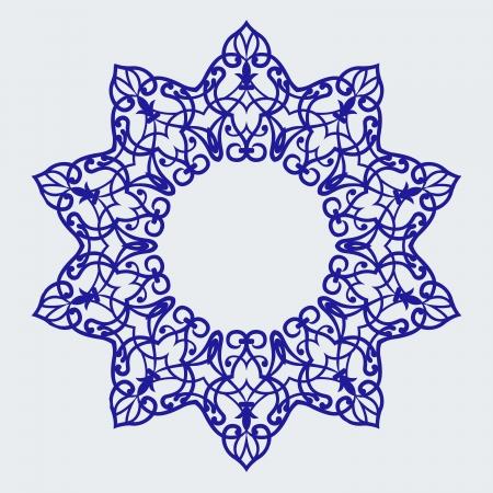 Vector of traditional Persian-Arabic-Turkish-Islamic Pattern Stock Vector - 21317602