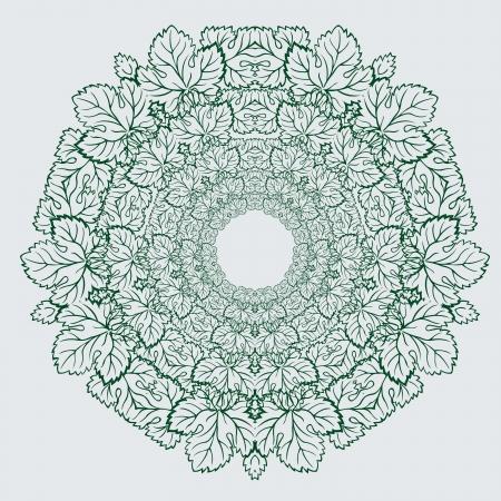 Vector of traditional Persian-Arabic-Turkish-Islamic Pattern Stock Vector - 21317608