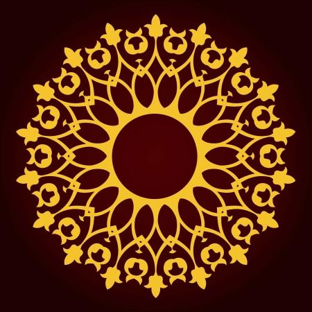 Vector of traditional Persian-Arabic-Turkish-Islamic Pattern Stock Vector - 21317614