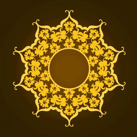 Vector of traditional Persian-Arabic-Turkish-Islamic Pattern Фото со стока - 21317615