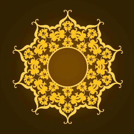 Vector of traditional Persian-Arabic-Turkish-Islamic Pattern Stock Vector - 21317622