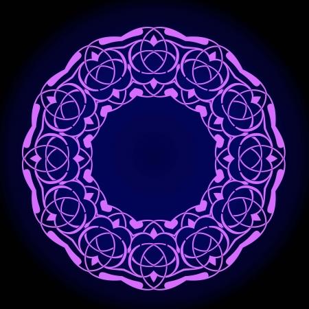 Vector of traditional Persian-Arabic-Turkish-Islamic Pattern Stock Vector - 21317623