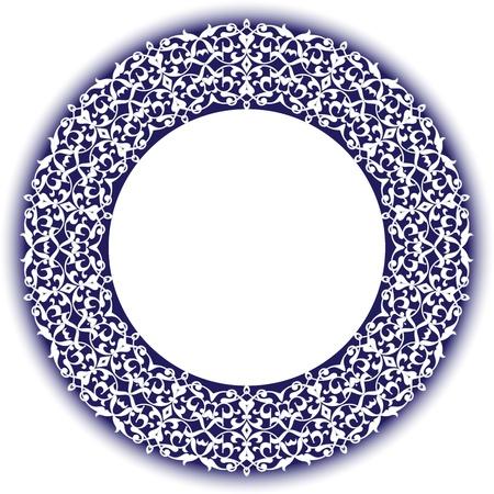 Vector of traditional Persian-Arabic-Turkish-Islamic Pattern Stock Vector - 21317625