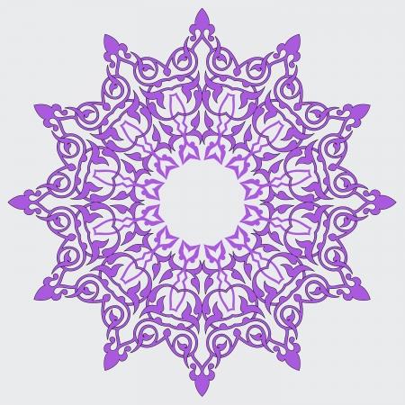 Vector of traditional Persian-Arabic-Turkish-Islamic Pattern Stock Vector - 21317629