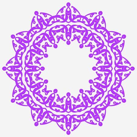 Vector of traditional Persian-Arabic-Turkish-Islamic Pattern Stock Vector - 21317633