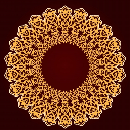 turkish rugs: Vector of traditional Persian-Arabic-Turkish-Islamic Pattern