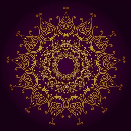 Vector of traditional Persian-Arabic-Turkish-Islamic Pattern Stock Vector - 21317640