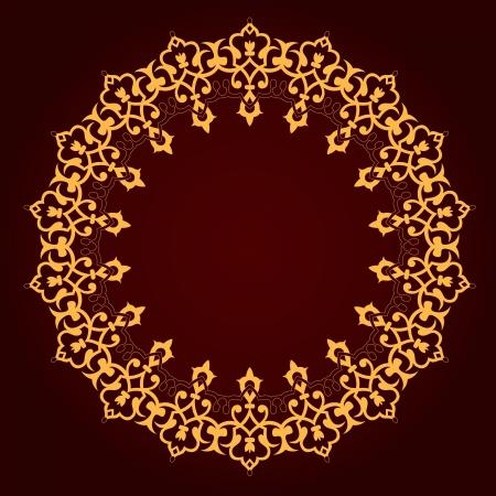 Vector of traditional Persian-Arabic-Turkish-Islamic Pattern Stock Vector - 21317645
