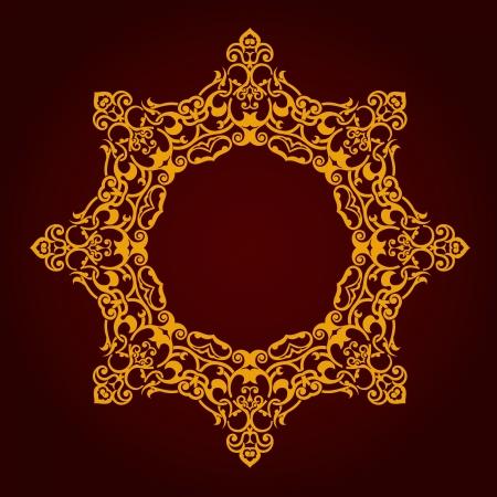 Vector of traditional Persian-Arabic-Turkish-Islamic Pattern Stock Vector - 21317648