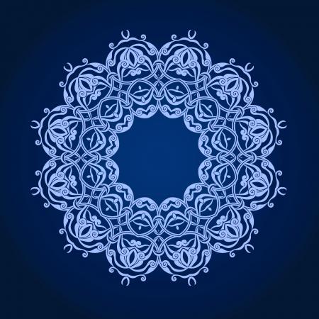 Vector of traditional Persian-Arabic-Turkish-Islamic Pattern Stock Vector - 21317652