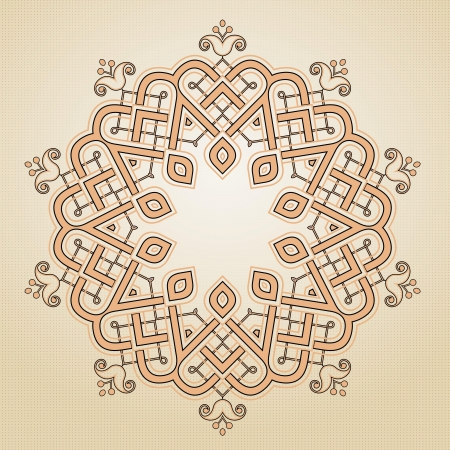 Vector of traditional Persian-Arabic-Turkish-Islamic Pattern Stock Vector - 21317654