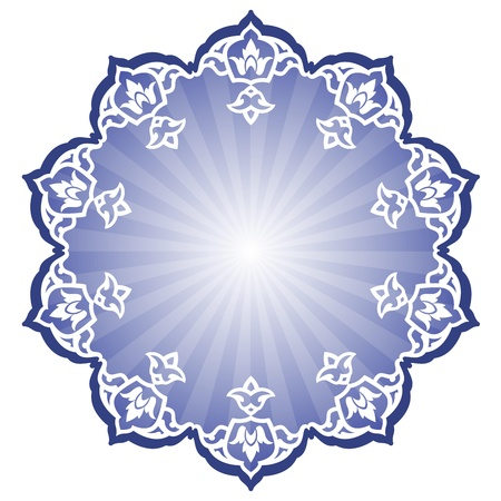 Vector of traditional Persian-Arabic-Turkish-Islamic Pattern Stock Vector - 21317656