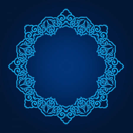 Vector of traditional Persian-Arabic-Turkish-Islamic Pattern  Stock Vector - 21317657