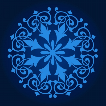 ペルシア語-アラビア語-トルコ ・ イスラムの伝統的な模様のベクター  イラスト・ベクター素材