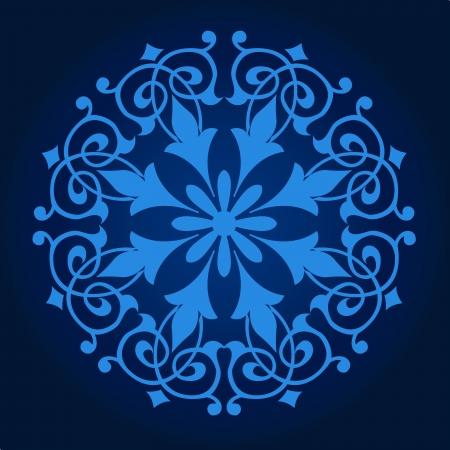 Vecteur de motif persan-arabe islamo-turque traditionnelle Banque d'images - 21542951