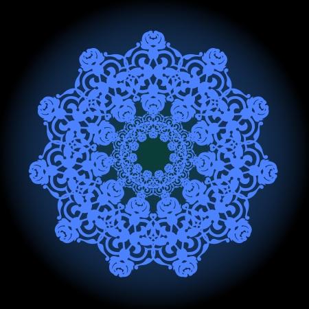 iranian: Vector of traditional Persian-Arabic-Turkish-Islamic Pattern