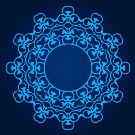 Vector of traditional Persian-Arabic-Turkish-Islamic Pattern Stock Vector - 21542953
