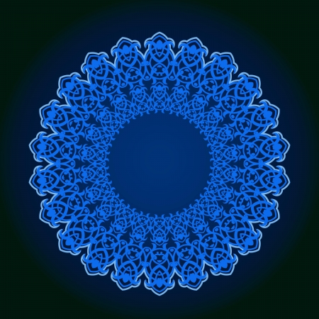 middle eastern: Vector of traditional Persian-Arabic-Turkish-Islamic Pattern