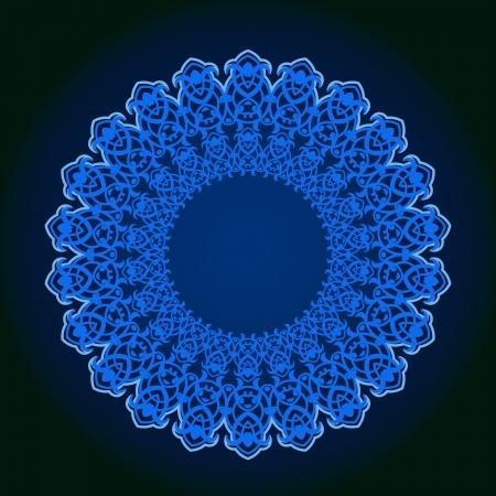 Vector of traditional Persian-Arabic-Turkish-Islamic Pattern Stock Vector - 21542954