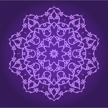 arabesque: Vector de patr?ersa-?be-turco-isl?ca tradicional