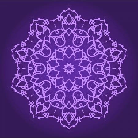 arabesque: Vettore di modello tradizionale persiano-arabo-turco-islamica