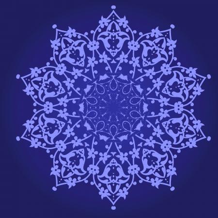 Vector of traditional Persian-Arabic-Turkish-Islamic Pattern Stock Vector - 21542959