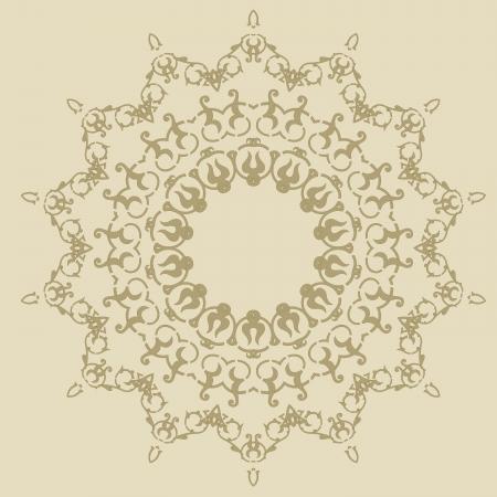 Vector of traditional Persian-Arabic-Turkish-Islamic Pattern Stock Vector - 21542962