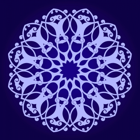 iran: Vector of traditional Persian-Arabic-Turkish-Islamic Pattern