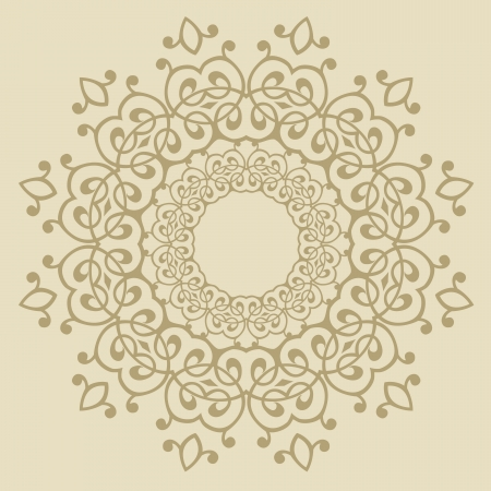 arabesque antique: Vector of traditional Persian-Arabic-Turkish-Islamic Pattern