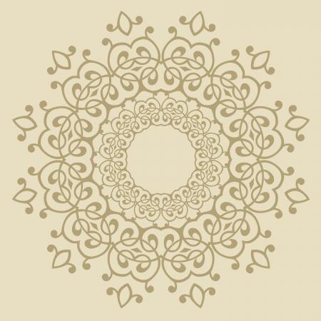 rekodzielo: Wektor tradycyjny wzór perski-arabsko-turecko-islamskiego Ilustracja