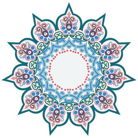 Vector of traditional Persian-Arabic-Turkish-Islamic Pattern Фото со стока - 21542992