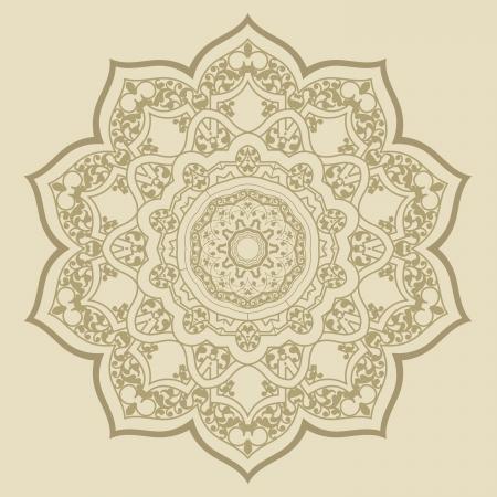 Vektor der traditionellen persischen-Arabic-T?rkisch-Islamische Muster Standard-Bild - 21542993