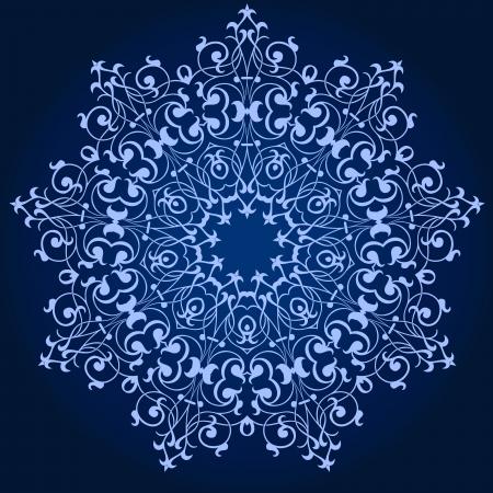 geometri: Geleneksel Farsça-Arapça-Türkçe-İslam Desen Vektör Çizim