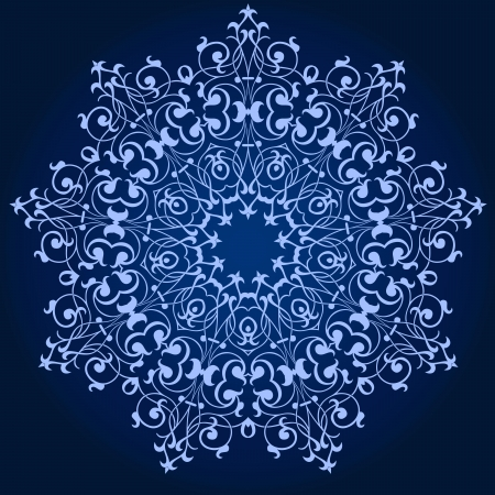 repeat square: Vector of traditional Persian-Arabic-Turkish-Islamic Pattern