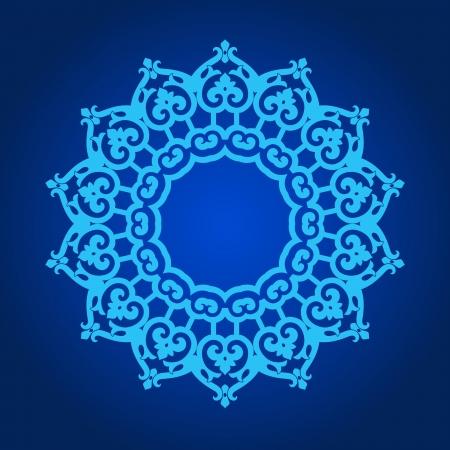 indian yoga: Vettore di modello tradizionale persiano-arabo-turco-islamica