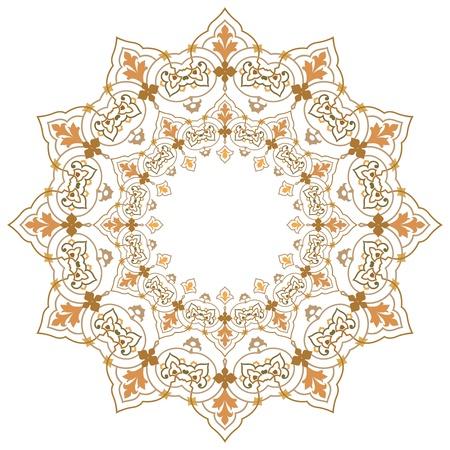Vector of traditional Persian-Arabic-Turkish-Islamic Pattern Stock Vector - 21543000