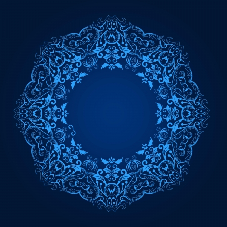 home deco: Vector of traditional Persian-Arabic-Turkish-Islamic Pattern