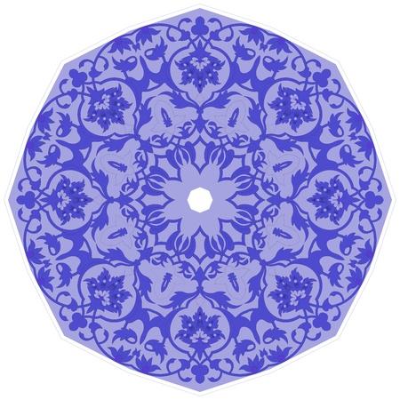 salat: Round Pattern