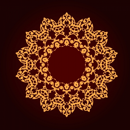 Vector of traditional Persian-Arabic-Turkish-Islamic Pattern  Stock Vector - 21937333