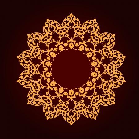 Vector of traditional Persian-Arabic-Turkish-Islamic Pattern Stock Vector - 21937333