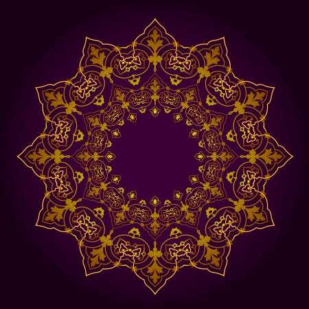 Vector of traditional Persian-Arabic-Turkish-Islamic Pattern Stock Vector - 21937334