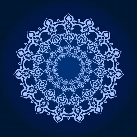 Vector of traditional Persian-Arabic-Turkish-Islamic Pattern Stock Vector - 21937339