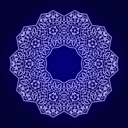 Vector of traditional Persian-Arabic-Turkish-Islamic Pattern Stock Vector - 21937340