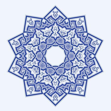 western pattern: Round Pattern