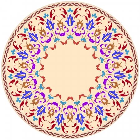 Vector of traditional Persian-Arabic-Turkish-Islamic Pattern Stock Vector - 23205841